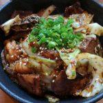 焼肉 賢の和牛ホルモン丼