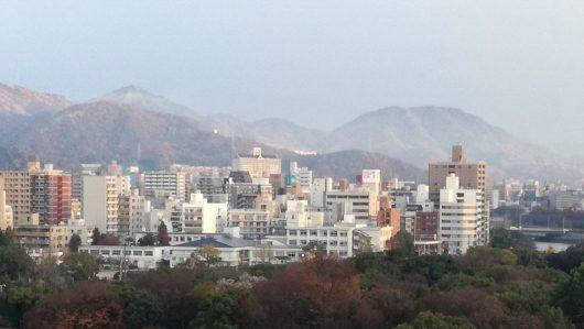2017年12月6日 広島市内の朝