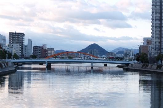 中島神崎橋から南をみる