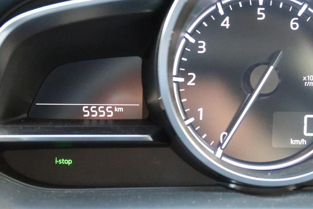 デミオ 走行距離 5,555km