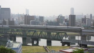 2008年に走った旧塗装色の0系新幹線