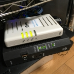 NTT西日本 光ネクスト ホームゲートウェイとVDSLモデム