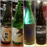 5月19日に頂いた日本酒たち