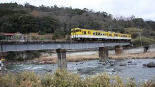 狩留家〜白木山間にある第1三篠川橋梁(2008年1月撮影)