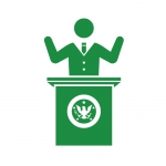 政治家の演説