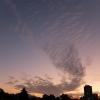 2月5日の通勤途中に見かけた雲