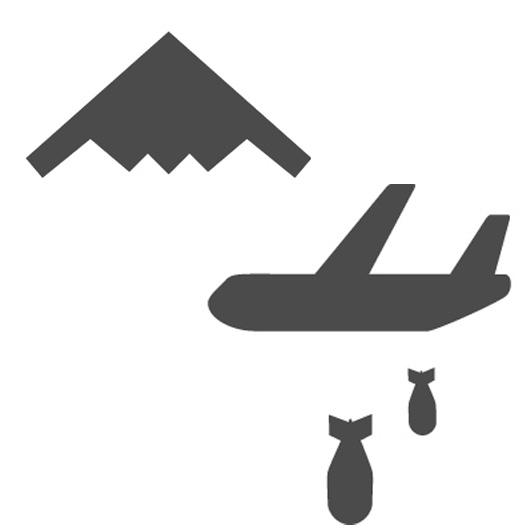 爆撃機(icooon monoより)