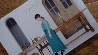 """藤田麻衣子 メジャー4thアルバム """"wish"""""""