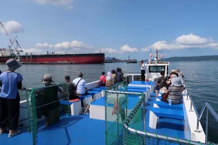 呉湾艦船めぐり 出発