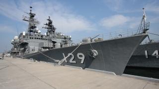 """護衛艦""""やまゆき(DD-129)""""(2008年10月)"""