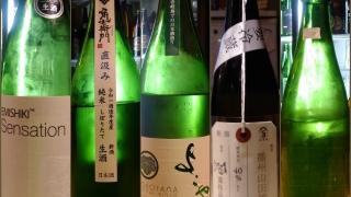 12月28日、29日に頂いた日本酒