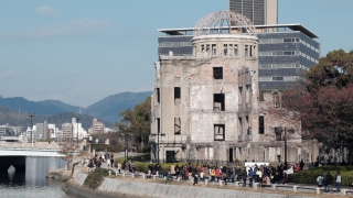 2020年1月2日の原爆ドーム