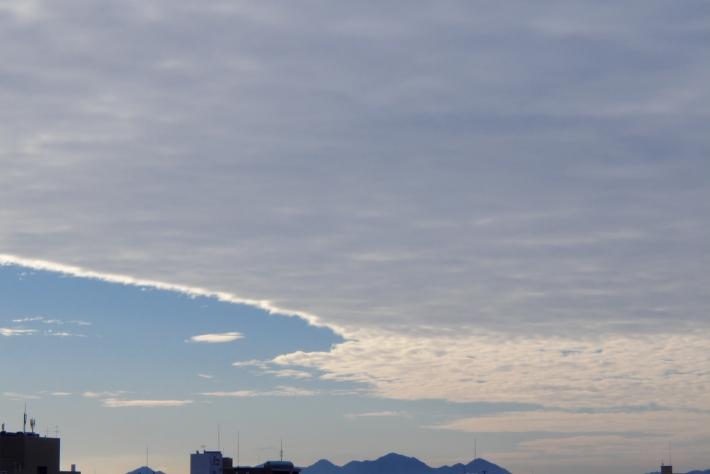 2020年1月6日 広島市内の雲