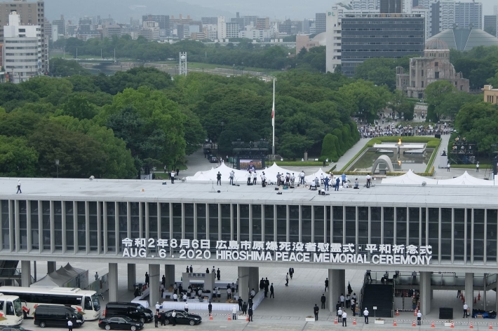 2020年8月6日 平和記念式典