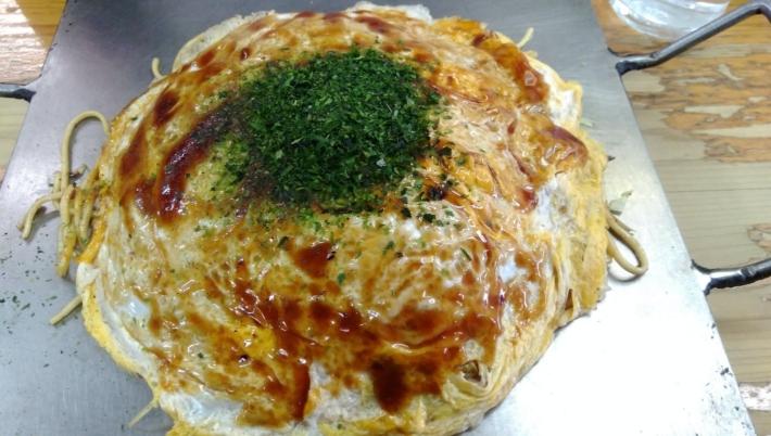 キャベツ(戸坂)のお好み焼き