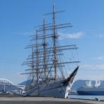 1万トンバースの海王丸