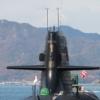 潜水艦の注連飾り