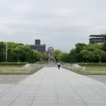 朝の平和記念公園