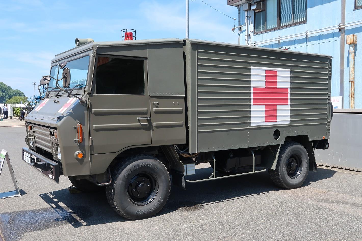 1トン半救急車
