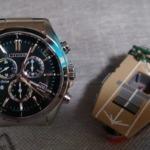 シチズンの時計 Eco-Drive W770